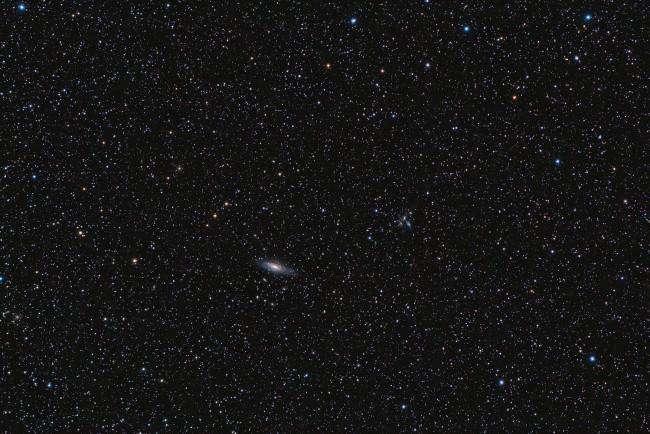 NGC 7331 et le Quintet de Stephan