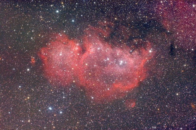 IC1848 - Nébuleuse de l'Ame
