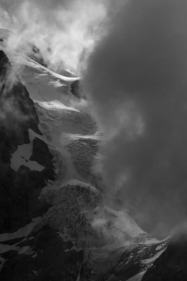 Le Glacier de l'Homme