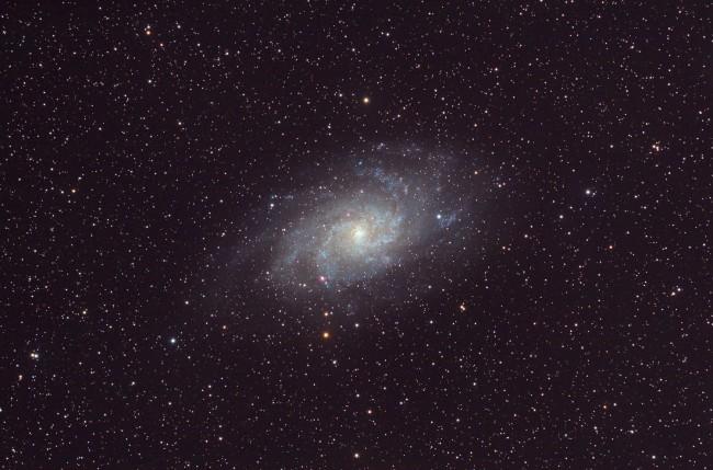 (Français) M33, La Galaxie du Triangle