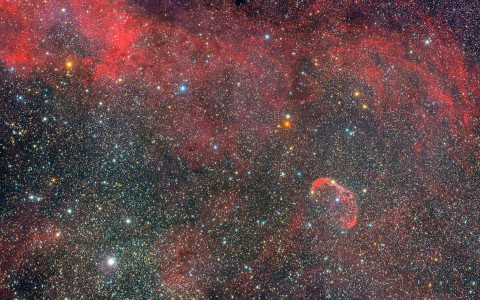 NGC6888 - Nébuleuse de Croissant