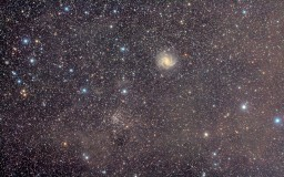 NGC 6946, Firework, and NGC 6939, The Star Cluster